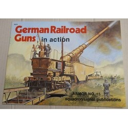 German railroad guns in...