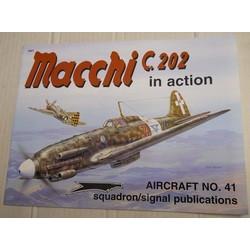 Macchi C202 in action...