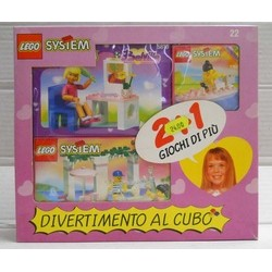 Lego System Art. 22 Tre...