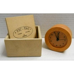 Orologio in vero legno con...