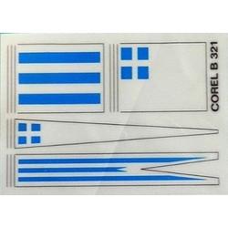 Corel Art. B321 Bandiere...