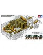 Accessori per mezzi militari in scala 1:35