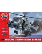 Aerei ed elicotteri in scala 1:48 con relativi accessori da montare