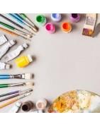 Colori e pennelli per pittori