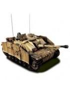 Modellismo statico. Mezzi militari montati in altri scale