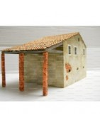 Modellini di Edifici fatti su misura dipinti a mano e con l'aerografo