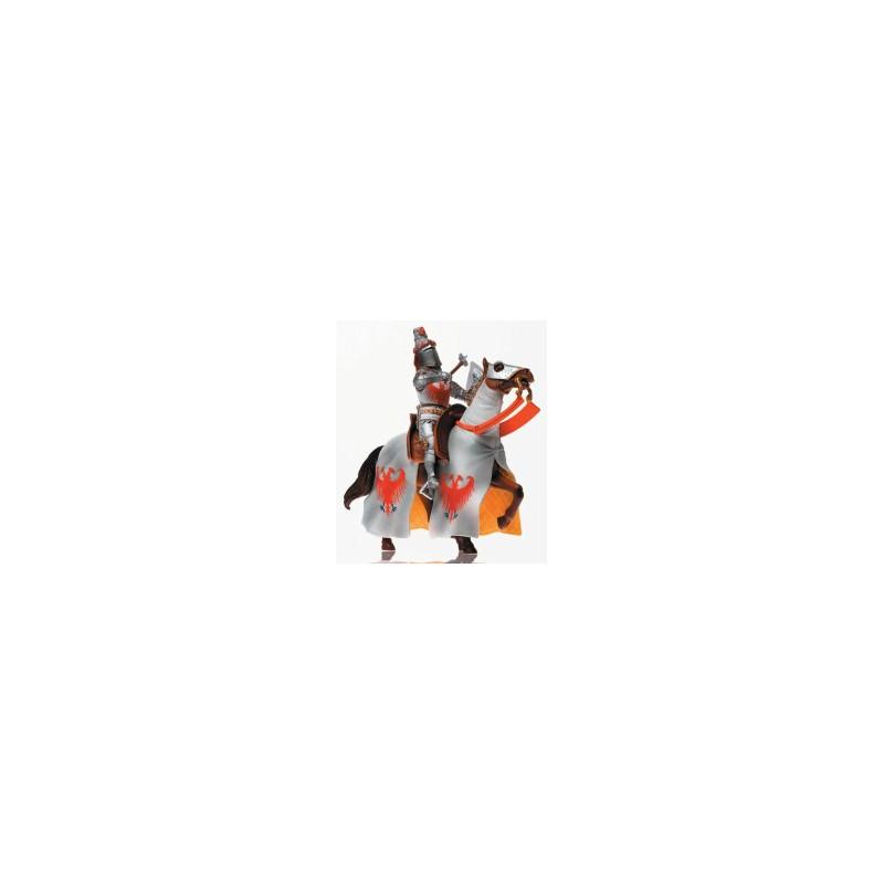 Energy Toys Art 21461 Cavaliere Inglese Con Cavallo Bianco Scala 116