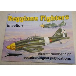 Reggiane fighters in action...