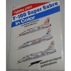 Fighting colors. F-100...