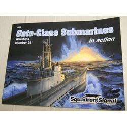 Gato-class submarines in...