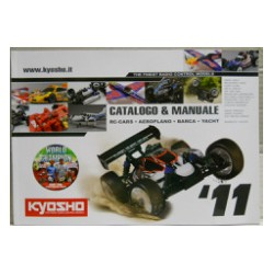 Kyosho catalogo e manuale 2011