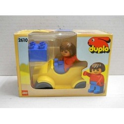 Duplo Art. 2610 Yellow car