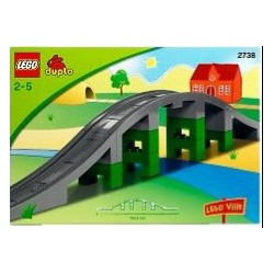 Duplo Art. 2738 Train bridge
