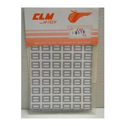 CLM Art. 6116 Adesivi per...