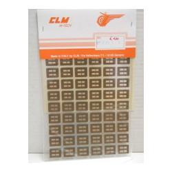 CLM Art. 6117 Adesivi per...