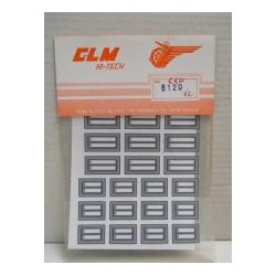 CLM Art. 6120 Adesivi per...