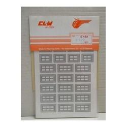 CLM Art. 6122 Adesivi per...