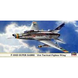 Hasegawa Art. 0682 F-100D...